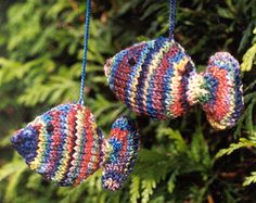 knitted fish pattern for sale
