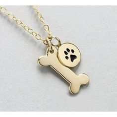 Personalized Pet Memorial Charm . Custom Dog or Cat Remembrance Jewelry . 14k Gold or Sterling Silver . Charm for Necklace . Bracelet Charms