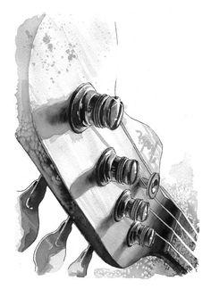 bass guitar tattoo - Google zoeken