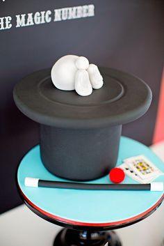 Cake at a Magic Party #magic #party