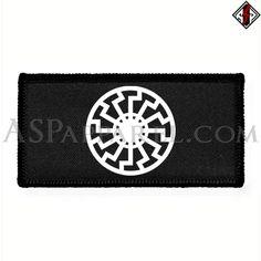 Sonnenrad (Black Sun) Rectangular Patch
