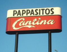Pappasitos Cantina in Texas. Great margaritas and delicious salsa!!