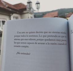 """Del libro """"Con tal de verte volar"""", de Miguel Gane (Fragmento)."""