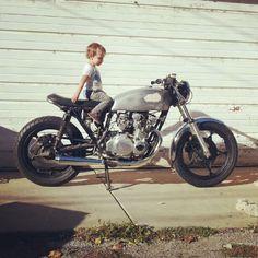 GS550 ... teach em how to ride early