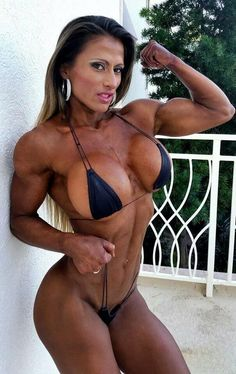 almightymuscle:  Our 500th Post. Spain's Maria Jose Garcia Sanchez - Part I