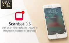 Scanbot #appstowatch #mobile #apps #trends