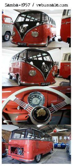 vw samba 1957 #kombi# #samba#