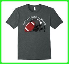"Mens ""My Favorite Fantasy"" Football Fantasy Team Play T-Shirt 3XL Dark Heather - Fantasy sci fi shirts (*Amazon Partner-Link)"