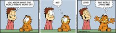 Garfield Cartoon for Jan/06/2015