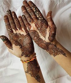 Mehndi design makes hand beautiful and fabulous. Here, you will see awesome and Simple Mehndi Designs For Hands.