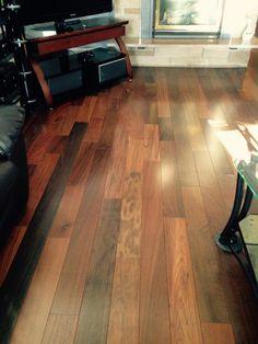 2 1 4 brazilian walnut pre finished solid hardwood for Lumber liquidators decking material