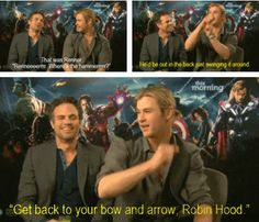 Legolas, Robin Hood, I'm surprised they actually used his real name during filming.