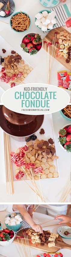 Kid Friendly Fondue