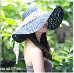 2014 clásico diseño simple de ala ancha del sombrero de paja del verano  para las mujeres b034f02e6614