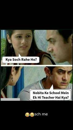 Aree Drashti didi ne aisa rakha hai letmethink nai mil raha ha yarrr u call n say Funny Minion Memes, Very Funny Memes, Funny School Jokes, Funny Jokes In Hindi, Best Funny Jokes, Funny Qoutes, Jokes Quotes, Stupid Memes, Funny Relatable Memes