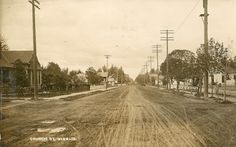 Historic Happenings: 2015  Church Street Before 1907