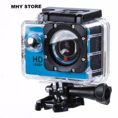 Full HD Waterproof Sport Action Camera Extreme Helmet Sports Camera