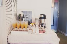 Mimosas for a brunch party. Or just make sure there are also adult drinks served!
