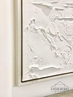 Textured Canvas Art, Abstract Canvas Art, Diy Canvas Art, Diy Wall Art, Diy Art, Canvas Art Projects, Texture Painting On Canvas, Textured Painting, Canvas Frame