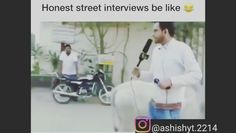 Funny Interview, Hindi Video, Instagram Funny, Funny Videos, Memes, Meme, Funny Vines