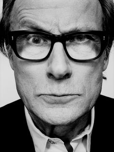 "William Francis ""Bill"" Nighy. I am in love with him."