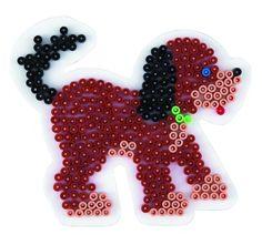 Dog Hund Hama Bügelperlen