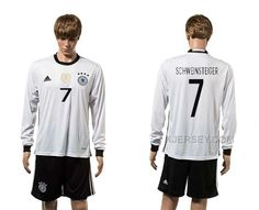 http://www.xjersey.com/germany-7-schweinsteiger-home-youth-euro-2016-long-sleeve-jersey.html GERMANY 7 SCHWEINSTEIGER HOME YOUTH EURO 2016 LONG SLEEVE JERSEY Only 33.11€ , Free Shipping!