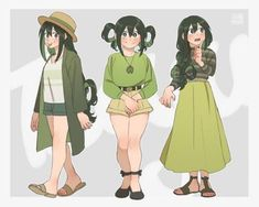 Find images and videos about boku no hero academia, my hero academia and tsuyu asui on We Heart It - the app to get lost in what you love. My Hero Academia Tsuyu, Boko No Hero Academia, My Hero Academia Memes, Hero Academia Characters, My Hero Academia Manga, Tsuyu Asui, Anime Inspired Outfits, Anime Outfits, Cute Outfits