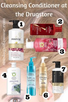 Cleansing Conditioners at the Drugstore