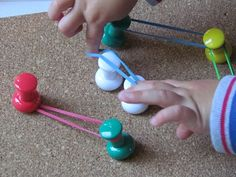 I was just looking and thinking about the different fine motor activities I could do with the boys!!