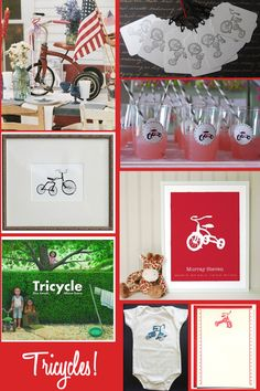 Thanks so much to Kendra for letting me do a guest post! I am thrilled to be able to contribute to Kendra's Insanity! I especially love how she always pulls her projects and parties together with a reasonable budget! *** I have been thinking for awhile now how fun a tricycle-themed baby shower would be. …
