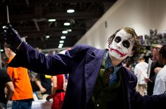 Awesome Joker cosplay is awesome!