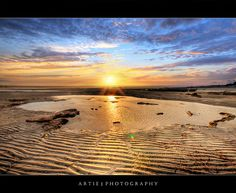 Sunset at Moonta Bay.