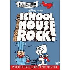 "School House Rock. I wasn't going too include this one because it seemed waaay too obvious to any Gen X-er. But when I found myself humming, ""I'm Just a Bill"" and ""Conjunction Junction"" today I realized how could I NOT include it?!"