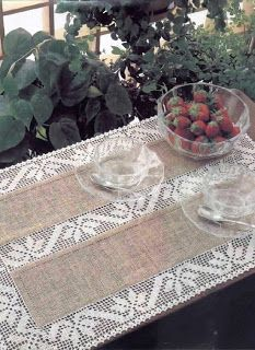 Filet Crochet with instructions