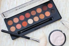 Technic Cosmetics Pro Finish Eyeshadow Palette - Toffee Edition Review