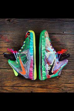 "Nike Lebron 10 ""What The Lebron?"" Lol! RANDOMNESS"