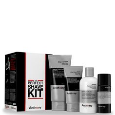 Buy Anthony The Perfect Shave Kit , expert grooming, skincare and body products…