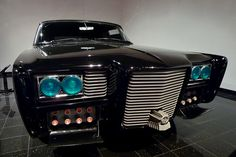 """Green Hornet """"Black Beauty"""" (1966 Imperial) at Peterson Automotive Museum"""