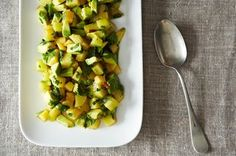 Plum Avocado Summer Salad Recipe on Food52 recipe on Food52