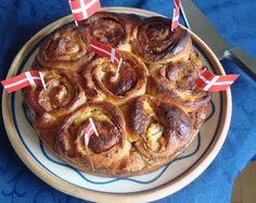 Smørkage med remonce (recipe in Danish)