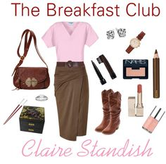 """Claire Standish: The Princess"" by dandelionapril on Polyvore"