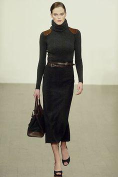 Ralph Lauren Fall 2005 Ready-to-Wear Fashion Show - Shannan Click