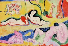 Henri Matisse 1906 La joie de vivre