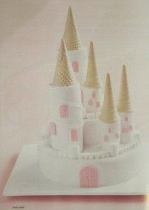 castle birthday cake party food - as a sandcastle cake? for beach party?