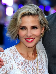 Elsa Pataky: side hair y wet look, dos peinados para pelo corto