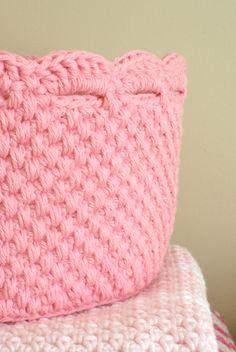 Handy Crafter: Crochet Storage