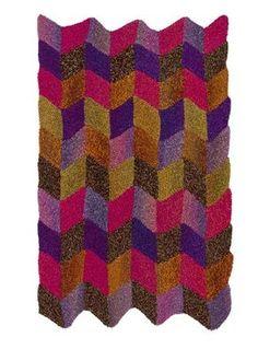 Free Knitting Pattern L32246 Chevron Afghan : Lion Brand Yarn Company