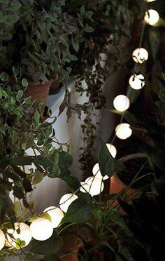 jogo de luz aspen no jardim