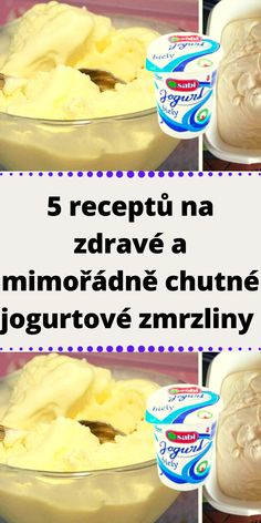 Czech Recipes, Snack Recipes, Snacks, Cereal, Food And Drink, Ice Cream, Breakfast, Desserts, Candy